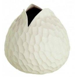 Váza CARVE ASA Selection béžová, 10,5 cm Dekorativní vázy