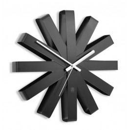 Nástěnné hodiny Umbra RIBBON - černé
