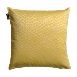Povlak na polštář 50x50 cm LINUM Ascoli - žlutý