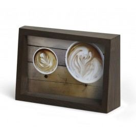 Rámeček na fotografii 11x16 cm Umbra EDGE - hnědý