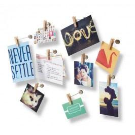 Kolíčky na fotografie Umbra PINCH, 9 ks