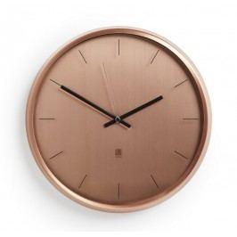 Nástěnné hodiny Umbra META - měděné