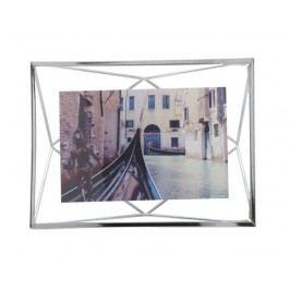 Rámeček na fotografii 10x15 cm Umbra PRISMA - stříbrný