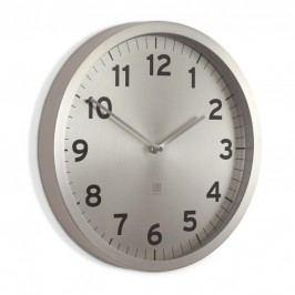 Nástěnné hodiny Umbra ANYTIME - stříbrné