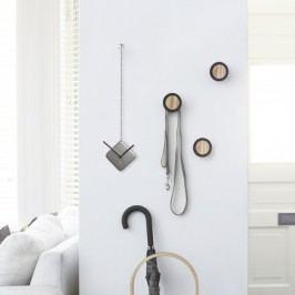 Nástěnné hodiny Umbra TIME DROP - stříbrné