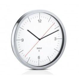Nástěnné hodiny řízené rádiovým signálem Blomus CRONO - bílé