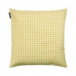 Povlak na polštář 50x50 cm LINUM Osby - žlutý