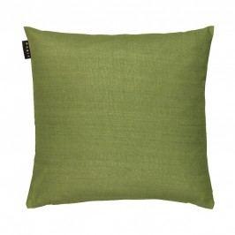 Povlak na polštář 40x40 cm LINUM Seta - hráškově zelený