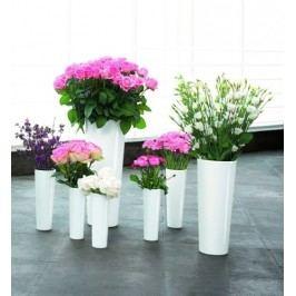Váza MONO ASA Selection bílá, 27,5 cm