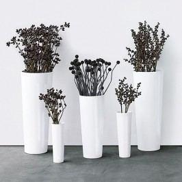 Váza MONO ASA Selection bílá, 60 cm