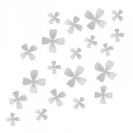 Umbra Nástěnná dekorace Wallflower, bílá
