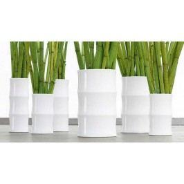 Váza BAMBOO ASA Selection bílá, 36 cm, průměr 13 cm