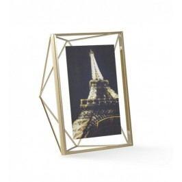 Rámeček na fotografii 13x18 cm Umbra Prisma - zlatý Rámečky na fotky