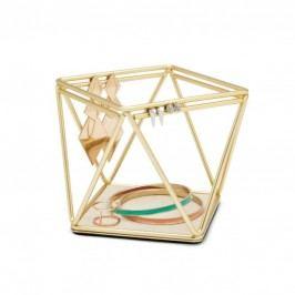 Šperkovnice Umbra Prisma - zlatá