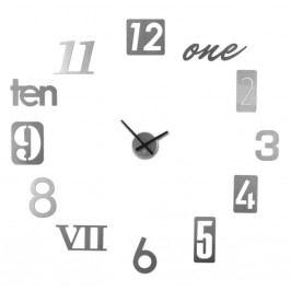 Nástěnné hodiny Umbra NUMBRA - stříbrné
