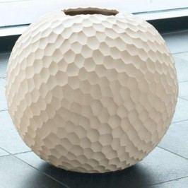 Váza CARVE ASA Selection béžová, 28 cm Dekorativní vázy
