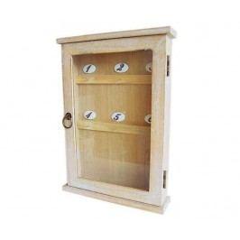 Skříňka na klíče Robin Natur