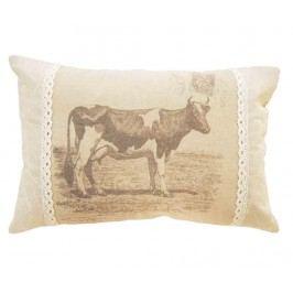 Dekorační polštář Cow 30x45 cm