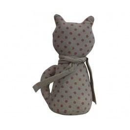 Dveřní zarážka Cat Grey