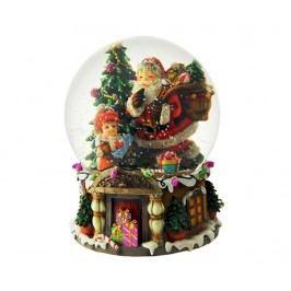 Hudební dekorace Santa With Gifts