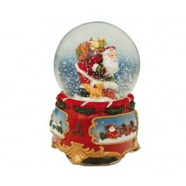 Hudební dekorace Dear Santa Globe