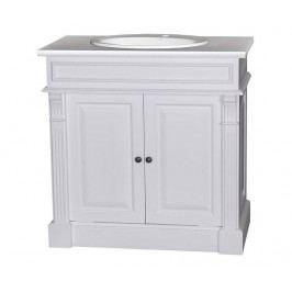 Koupelnová skříňka s umyvadlem Small Column White