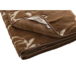 Přehoz Dream Luxury Camel 160x200 cm