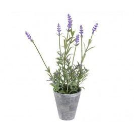 Umělá květina v květináči Lavander Two