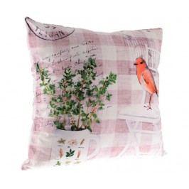 Dekorační polštář Bird Herbs 45x45 cm