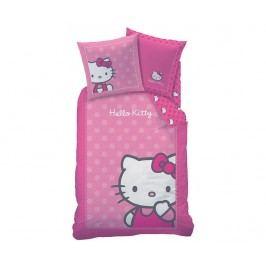 Ložní povlečení Single Ranforce Hello Kitty Camille