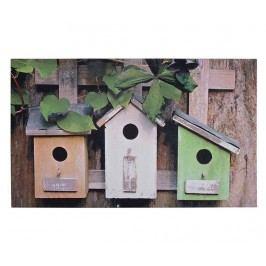 Vchodová rohožka Bird Houses 45x75 cm