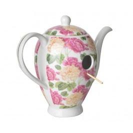Domeček pro ptáčky Coffeepot Bloomed Roses