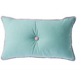 Dekorační polštář Malva Aqua 30x50 cm