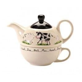 Sada čajník a šálek Home Farm