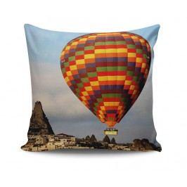 Dekorační polštář Hot Air Balloon 45x45 cm