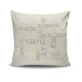 Dekorační polštář Premium Coffee 45x45 cm