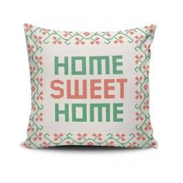 Dekorační polštář Traditional Sweet Home 45x45 cm