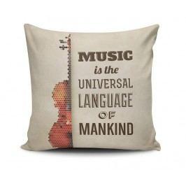 Dekorační polštář Universal Music 45x45 cm
