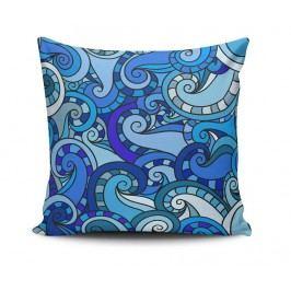 Dekorační polštář Curly Blue Elements 45x45 cm