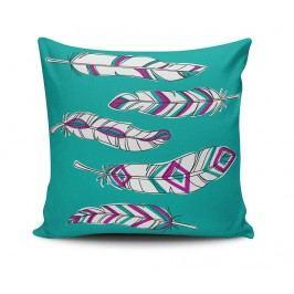 Dekorační polštář Aztec Feathers 45x45 cm