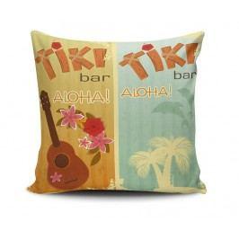 Dekorační polštář Tiki Bar 45x45 cm
