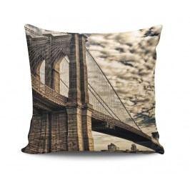 Dekorační polštář Vintage Bridge 45x45 cm