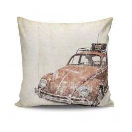 Dekorační polštář Old Fashion Car 45x45 cm