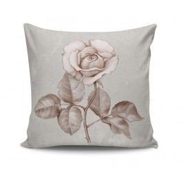 Dekorační polštář Rose Sketch 45x45 cm