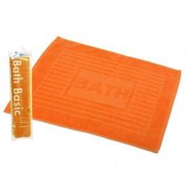 Koupelnová předložka Plain Orange 45x65 cm