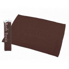 Koupelnová předložka Plain Brown 45x65 cm