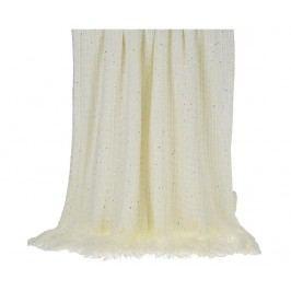 Pléd Shine Ivory 130x150 cm
