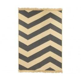 Koberec Zigzag Grey 80x150 cm