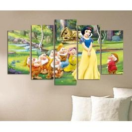 Sada 5 obrazů Snow White