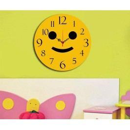 Nástěnné hodiny Smiley Face